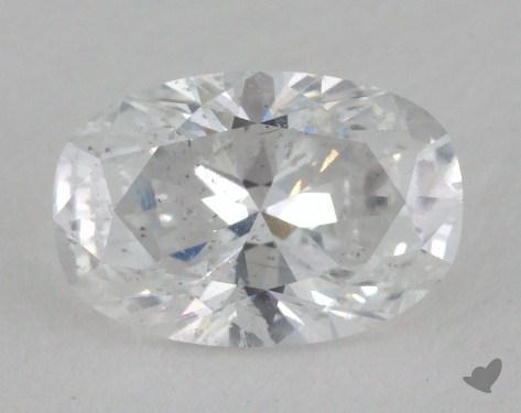 1.05 Carat D-I1 Oval Cut Diamond
