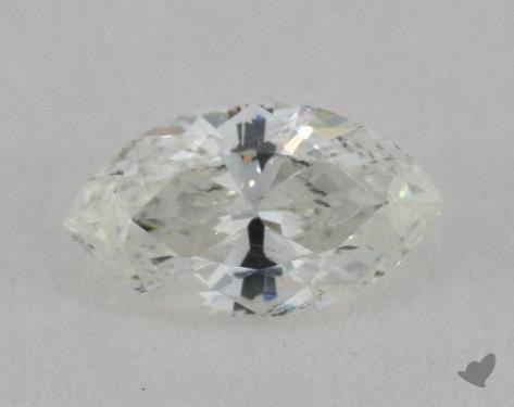 0.61 Carat H-SI2 Marquise Cut Diamond