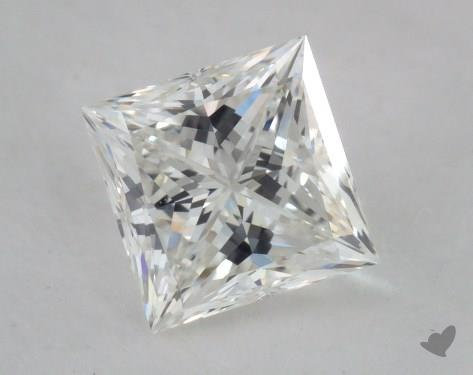 0.81 Carat H-VVS1 Ideal Cut Princess Diamond