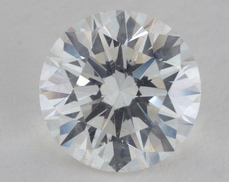 3.03 Carat H-SI2 Excellent Cut Round Diamond