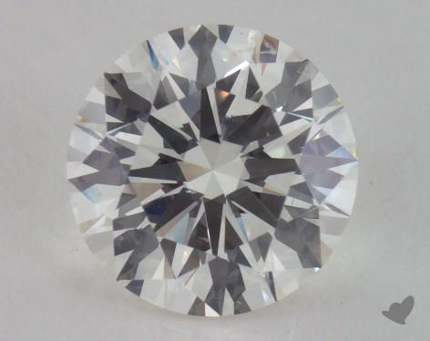2.52 Carat J-SI1 Excellent Cut Round Diamond