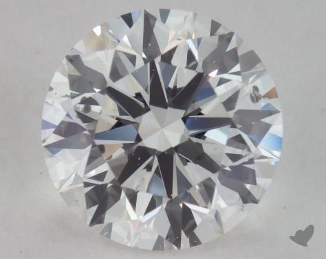 2.43 Carat E-SI2 Excellent Cut Round Diamond