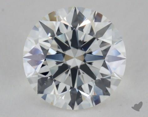 2.27 Carat F-VS2 Excellent Cut Round Diamond