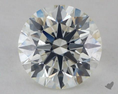 2.03 Carat J-SI1 Excellent Cut Round Diamond