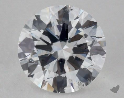 1.51 Carat D-SI2 Very Good Cut Round Diamond