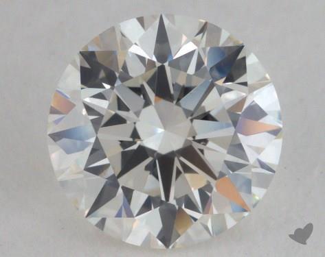 1.31 Carat H-VVS2 Excellent Cut Round Diamond