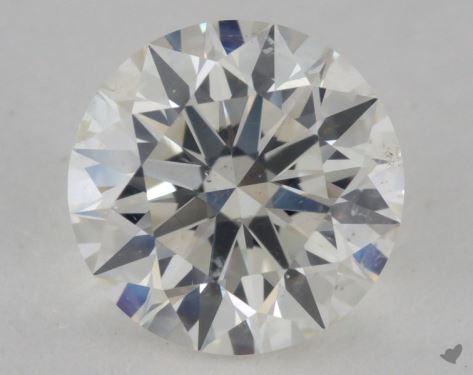 1.30 Carat I-SI1 Excellent Cut Round Diamond