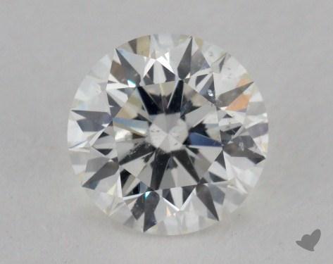 1.04 Carat H-SI2 Excellent Cut Round Diamond