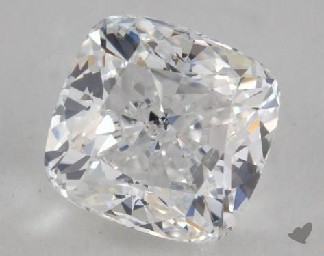 1.71 Carat D-SI2 Cushion Cut Diamond