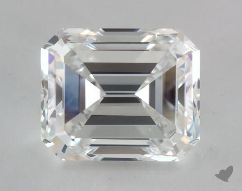 4.02 Carat F-VVS2 Emerald Cut Diamond