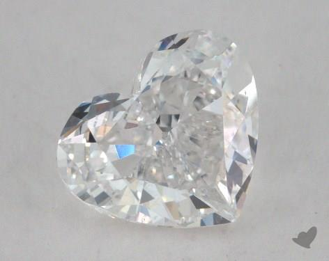 1.51 Carat E-SI1 Heart Shape Diamond