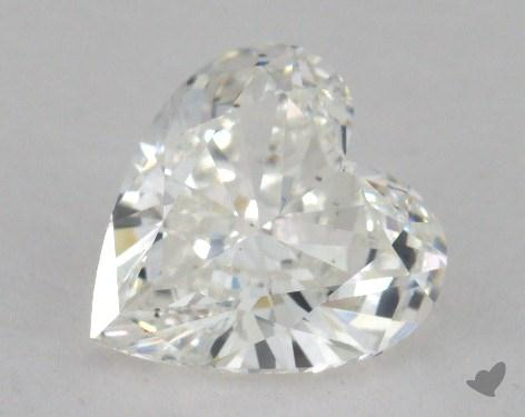 1.71 Carat H-SI1 Heart Shaped  Diamond