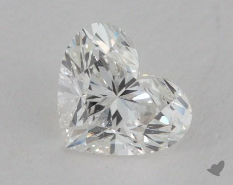 1.52 Carat H-SI2 Heart Shape Diamond