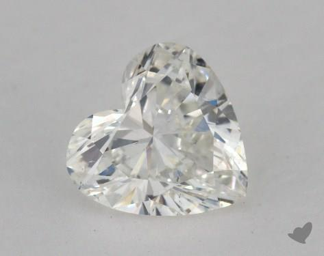 1.17 Carat H-SI1 Heart Shape Diamond