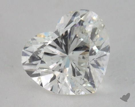 1.50 Carat H-SI2 Heart Shape Diamond