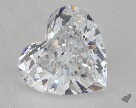 1.02 Carat E-SI1 Heart Shape Diamond