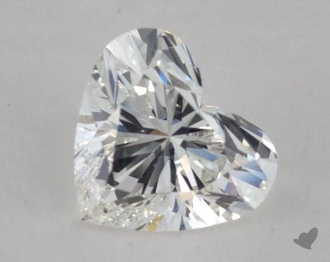 1.01 Carat H-VS2 Heart Shape Diamond