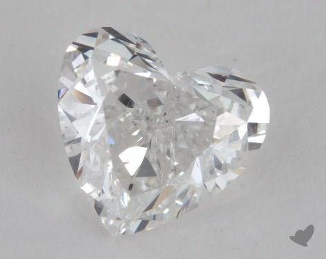 1.10 Carat E-SI2 Heart Shape Diamond
