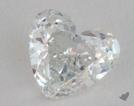 1.27 Carat E-SI1 Heart Shape Diamond