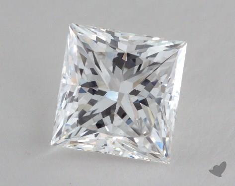 2.16 Carat D-VS2 Ideal Cut Princess Diamond