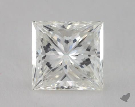 1.53 Carat G-VVS1 Princess Cut  Diamond