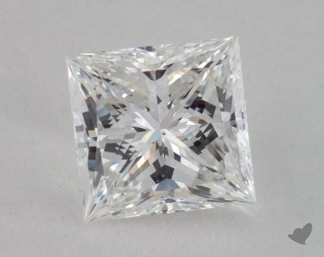 1.55 Carat F-SI1 Ideal Cut Princess Diamond