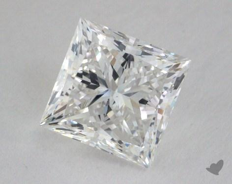 2.51 Carat G-VS2 Ideal Cut Princess Diamond