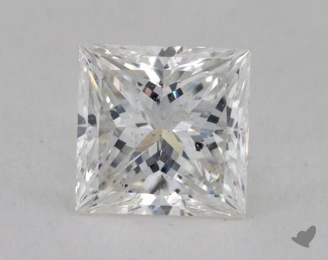 1.50 Carat E-SI2 Ideal Cut Princess Diamond