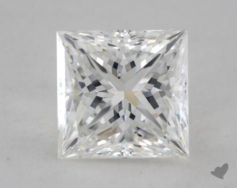 1.52 Carat F-SI1 Ideal Cut Princess Diamond