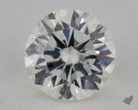 0.55 Carat J-I1 Very Good Cut Round Diamond