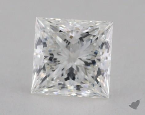 1.51 Carat F-SI2 Ideal Cut Princess Diamond
