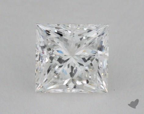 1.54 Carat F-SI2 Ideal Cut Princess Diamond
