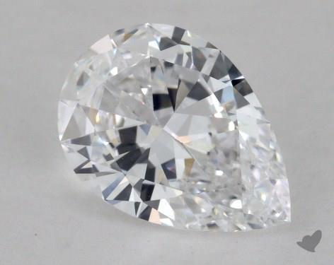 2.04 Carat D-IF Pear Shape Diamond