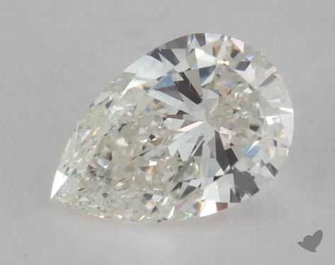 1.22 Carat H-SI1 Pear Shaped  Diamond