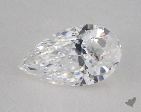 1.00 Carat D-IF Pear Shape Diamond