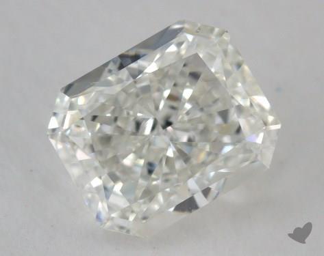 0.91 Carat H-VS2 Radiant Cut Diamond