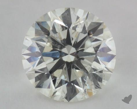 2.13 Carat K-SI2 Excellent Cut Round Diamond