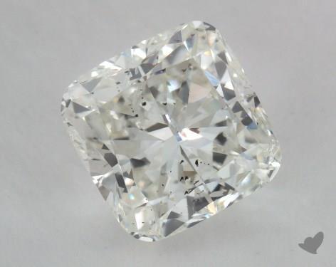 1.71 Carat I-SI2 Cushion Cut Diamond