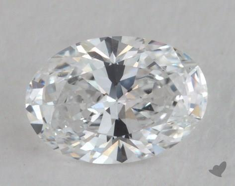 1.08 Carat D-VS1 Oval Cut Diamond