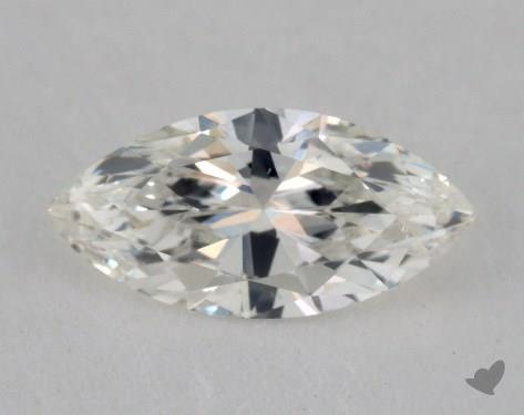 0.63 Carat H-VS2 Marquise Cut Diamond