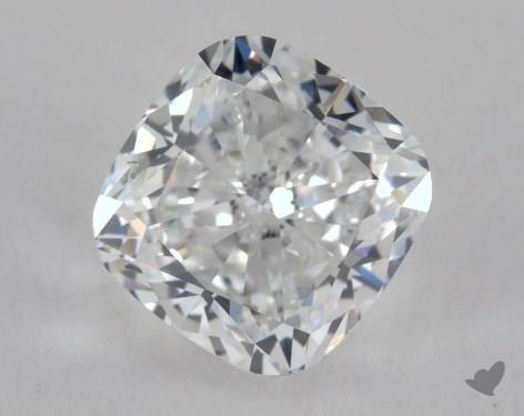 1.51 Carat E-VS2 Cushion Cut  Diamond