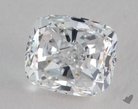 0.80 Carat D-VVS2 Cushion Cut Diamond