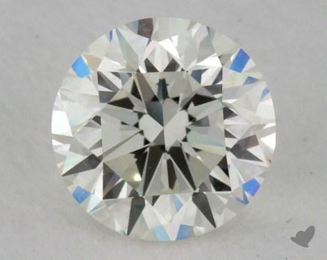 0.70 Carat J-VVS2 Very Good Cut Round Diamond