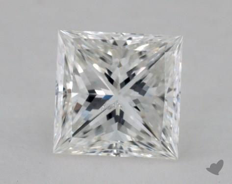 1.52 Carat E-SI2 Ideal Cut Princess Diamond