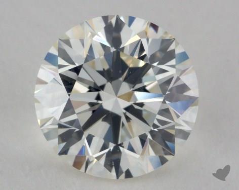 2.42 Carat J-VS1 Excellent Cut Round Diamond