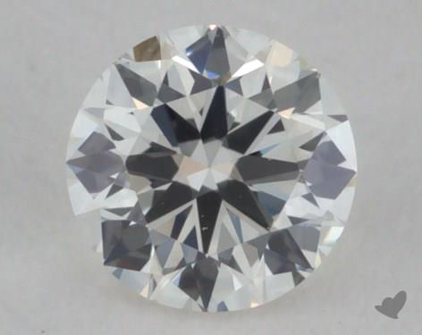 0.23 Carat H-VS2 Very Good Cut Round Diamond
