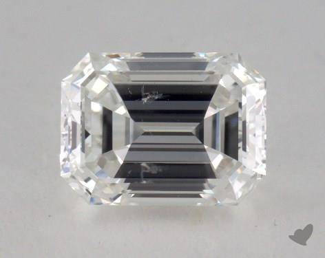 1.05 Carat G-SI2 Emerald Cut Diamond