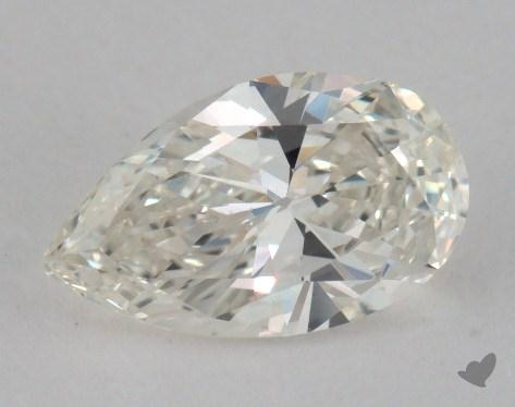 0.92 Carat J-VS2 Pear Shaped  Diamond