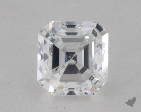 0.49 Carat E-VS2 Square Emerald Cut Diamond