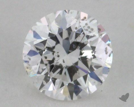 0.39 Carat E-I1 Very Good Cut Round Diamond